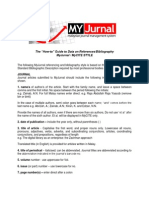 MyCITE Journal_referencing Style