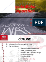 Toyota Operation+Management Spring11