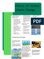 newletter climate change