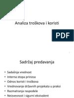 7. Analiza Troskova i Koristi2