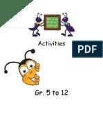activities booklet