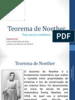 Teorema de Noether