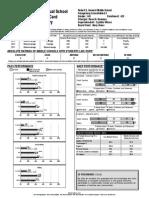 robert e howard middle school report card 2013