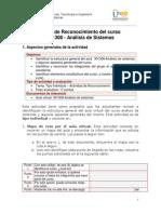 GuiaTarea ReconocimientoCurso 2014-I