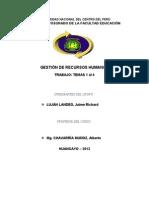 trabajo de gestión de recursos humanos (2) Lujan