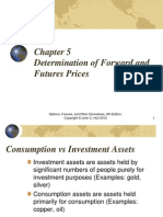 Determination of Future & Forward Rates