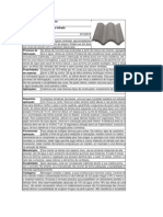 Ficha de Materiais - Telha de Concreto