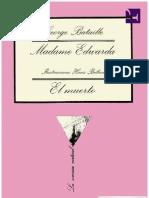 Madame Edwarda_El Muerto