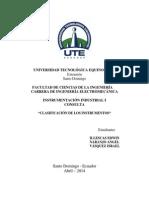 Instrumentación I - Consulta 1