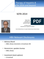 Current Therapy of Hepatitis B - Planning for 2014 and beyond