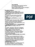 Programa Del Examen Del IBLCE