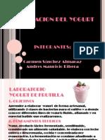 Presentacion Del Laboratorio de Elaboracion Del Yogurt
