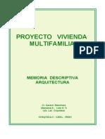 082008 - Memoria Edificio ( Arquitectura )