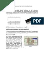 SIMULACIÓN DEL MICROPROCESADOR 8086