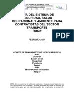 Guia Para Contratistas Ruc Transporte Rev 4