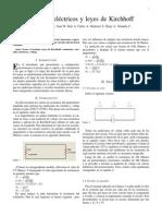 3. Circuitos eléctricos y leyes de Kirchhoff