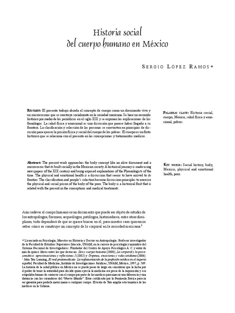 Historia De La Salud En M U00e9xico