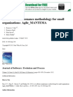 A software maintenance methodology for small organizations_ Agile_MANTEMA - Pino - 2011 - Journal of Software_ Evolution and Process - Wiley Online Library.pdf