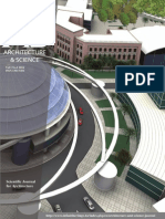 """Architecture & Science"" Journal No 1"