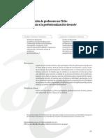 Texto 1 La Formacion de Profesores en Chile