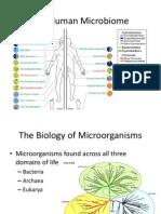 human microbiome presentation