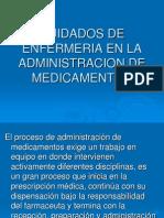 Cuidados de Enfermeria en La Administracion de Medicamentos