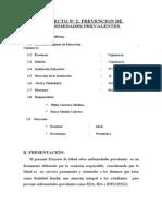 PROYECTO DE TUTORÍA 2014