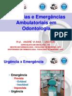 Apresentação urgências e emergências odontologia