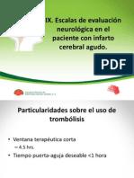 VII. Escalas de Evaluación Neurológica