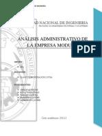 Monografía de Administración