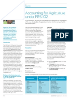 Accounting for Agriculture Under Frs102