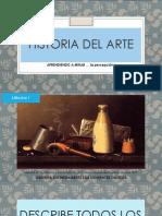Ejercicios Aprender a Mirar y Entender El Arte 2014