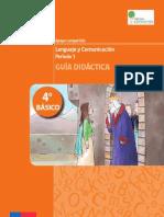 4basico-Guia Didactica Lenguaje y Comunicacion 1