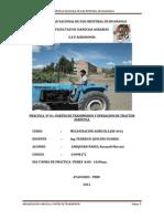 Segunda Practica de Mecanizacion Agricola