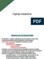 Urgente Metabolice