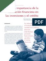 117_La Importancia de La Educacion Financiera en Las Inversiones y El Credito0