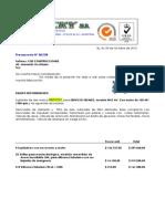 R4.0 C&E ML108 Presupueto