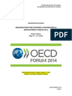 OECD Forum 2014 - Information Package