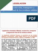 Legislacion de Residuos
