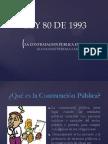 Ley 80 de 1993 Alexander Pereira Seccion 10