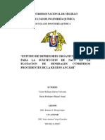 Sustitucion Del NACN Comodepresor de La Pirita en La Flotacion de Minerales en La Unidad Minera de Antamina