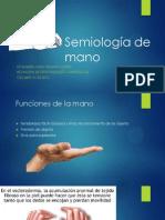Semiología de mano