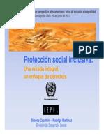 Proteccion Social Inclusiva SCyRM