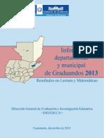 Informe Dep Mun Grad2013