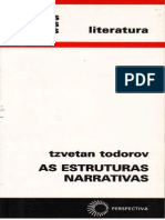 137177610 TODOROV Tzvetan as Estruturas Narrativas PDF