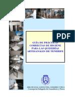 Guía de prácticas correctas de higiene para las queserías artesanales de Tenerife