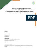 Plan de Desarrollo y Ordenamiento Territorial