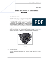 Fundamentos Del Motor de Combustion Interna