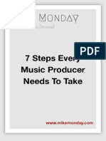 7 Steps Every Music Producer Needs to Take