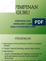 Kepimpinan Guru Nabila Syafura Andrea